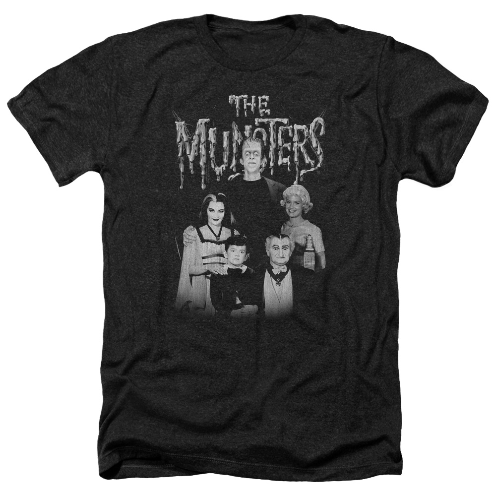 Munsters Family Portrait Mens Heather Shirt