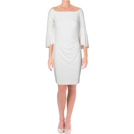 Bell Bottom Dress (Lauren Ralph Lauren Womens Spencer Off-The-Shoulder Bell Sleeve Cocktail)