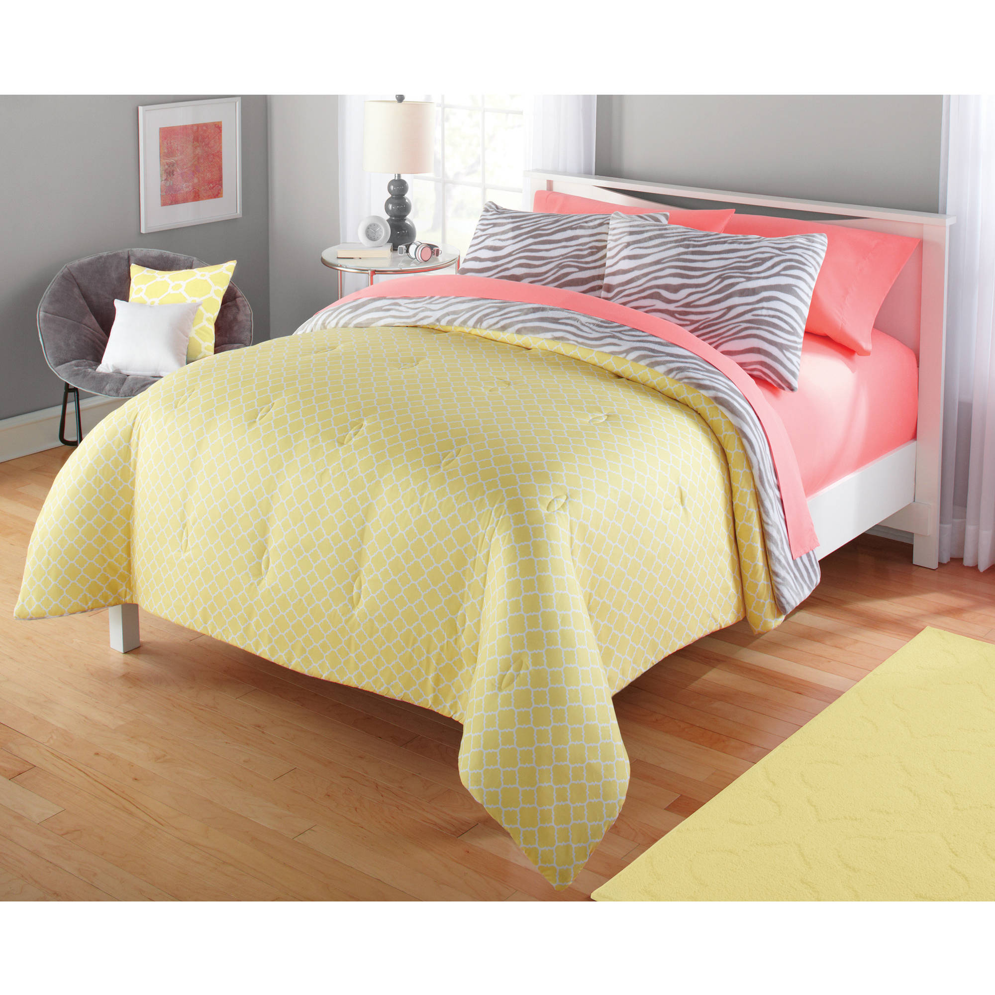 elise peach dp sets full queen set cheveron yellow grey skin bed fabric piece comforter teen blue design amazon intelligent bedding com