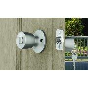 Brink\'s Keyed Entry Mobile Home Door Knob Bell, Stainless Steel ...