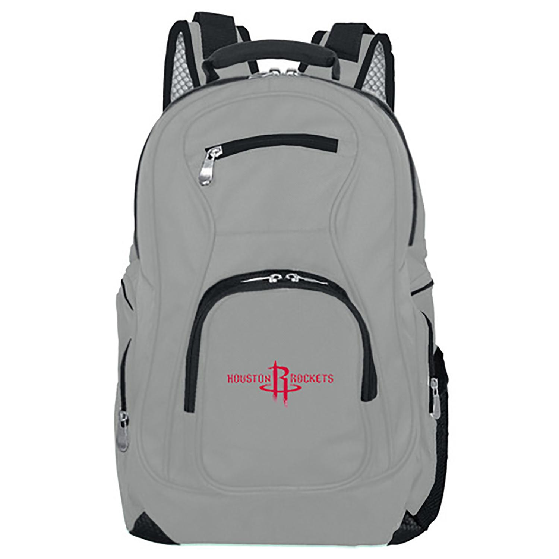 NBA Houston Rockets Gray Premium Laptop Backpack