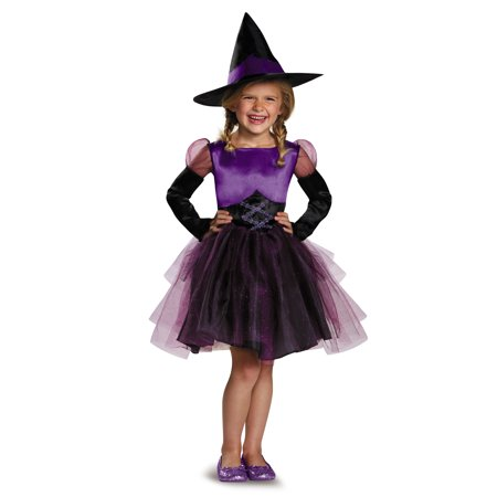 Toddler Witch Tutu Costume (Toddler Purple Witch Tutu Costume by Disguise)
