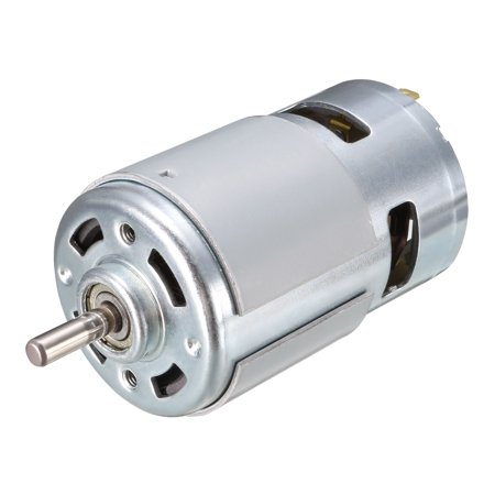 DC Motor 12V 10000RPM Electric Motor Round Shaft for RC Boat Toys Model - image 4 of 4