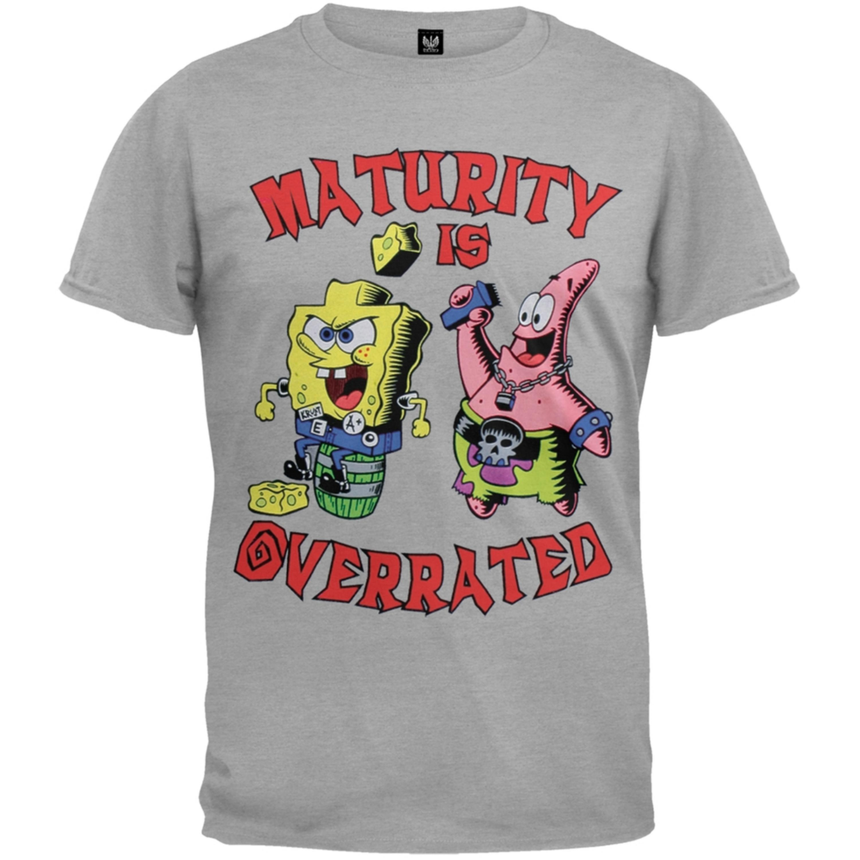 Spongebob Squarepants - Maturity Is Overrated Youth T-Shirt