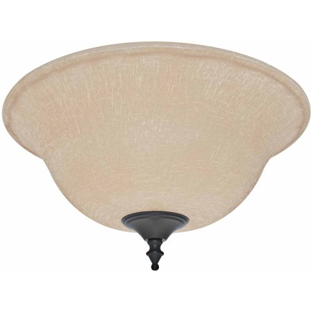 Hunter Fan Company 99160 Amber Linen Bowl Glass