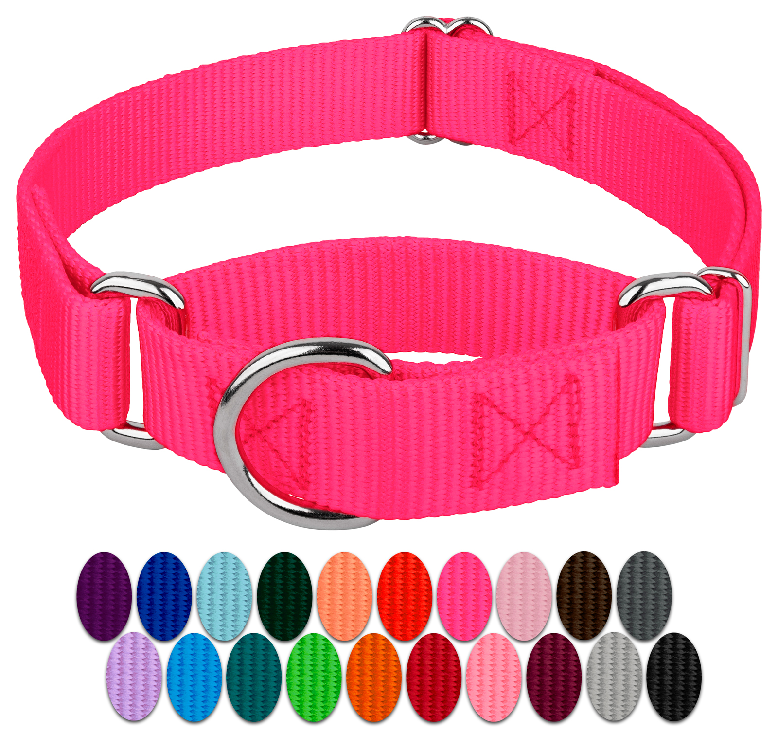 Country Brook Petz™ Martingale Dog Collar Plaid and Argyle Collection