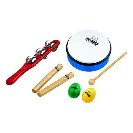 Meinl Percussion Table - Meinl Nino Percussion Set 3