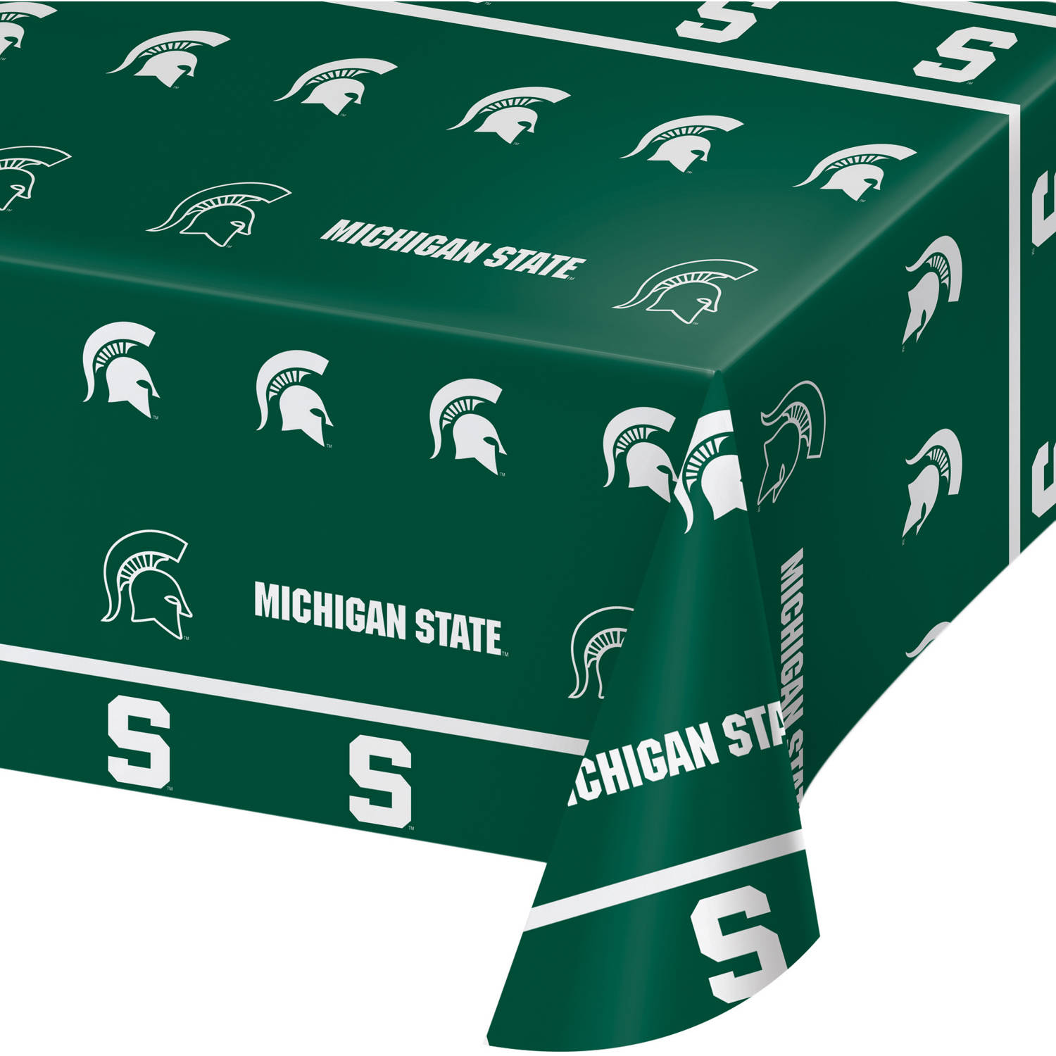 Michigan State University Plastic Tablecloth, each