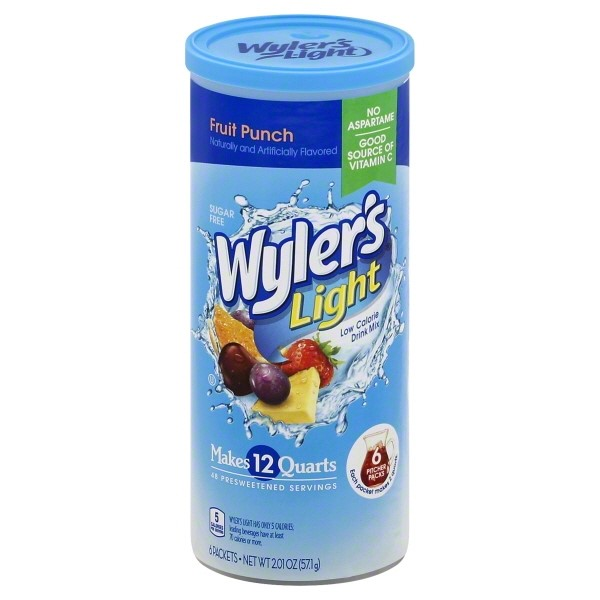 Jel Sert Wylers Light Drink Mix, 6 ea