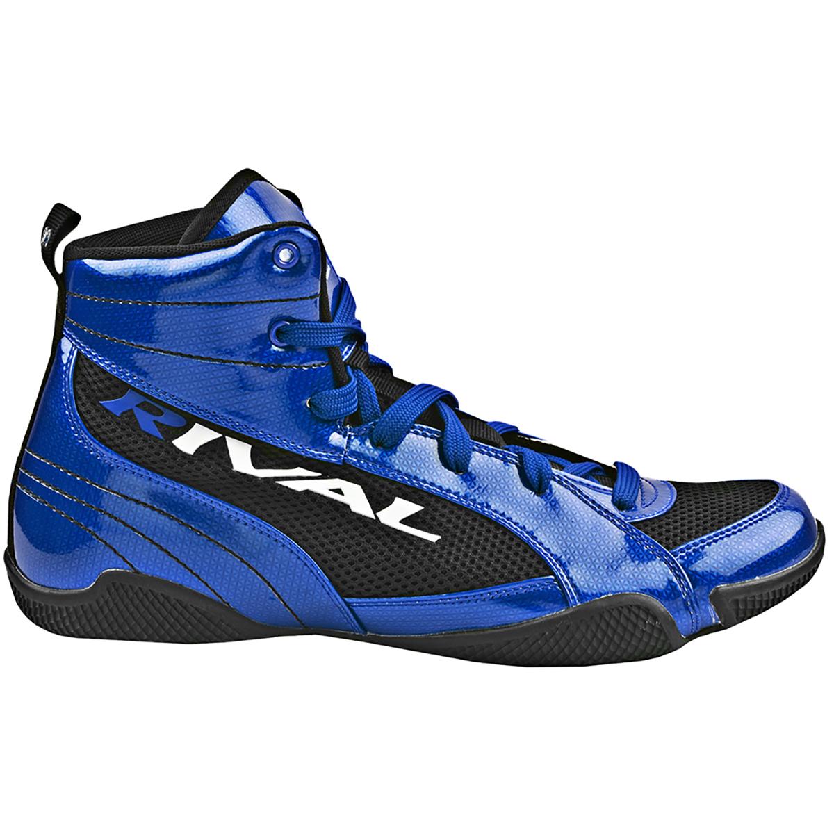 Rival Boxing Lo-Top Guerrero Boots - Sapphire Blue