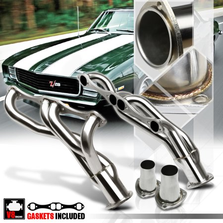 SS Mid-Length Exhaust Header Manifold for A/F/G Body Small Block Chevy Clipster 65 66 67 68 69 70 71 72 73 74 75 76 77 78 79 80 81 82 83 84 85 86