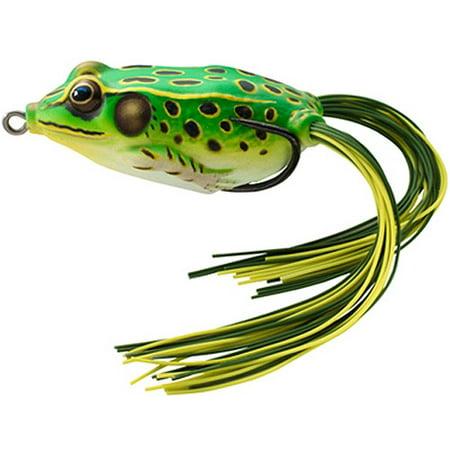 Koppers LiveTarget Hollow-Body Frog, 5/8 oz, Fluorescent Green/Yellow