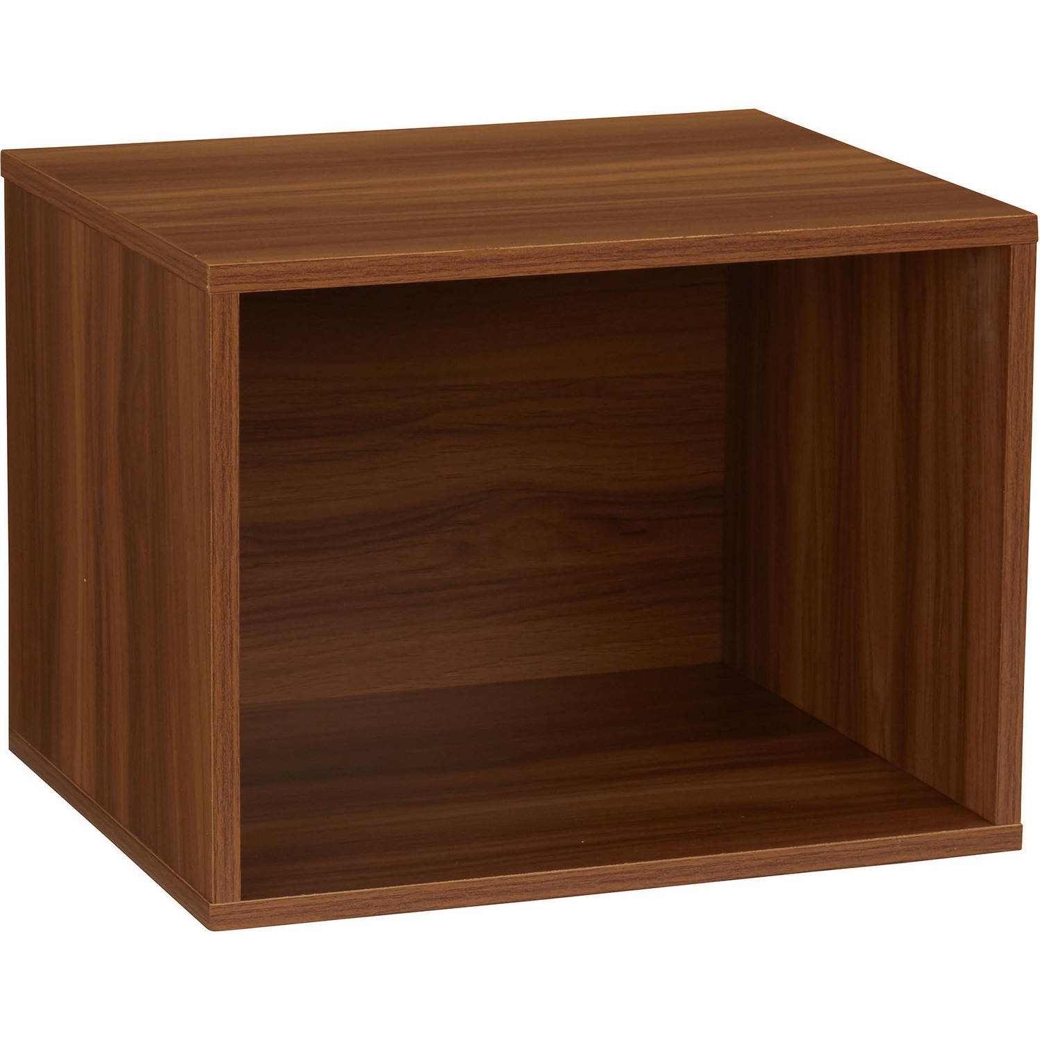 Household Essentials Single Cubby, Honey Maple