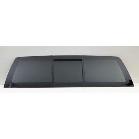 Gmc Sierra 2500 Power Window (Fits 2007-2013 Chevrolet Silverado & GMC Sierra (C/K 1500 2500 3500) Rear Back Slider Window Glass Power OE W/GM Logo )