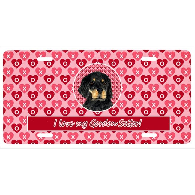 Carolines Treasures SS4515LP 12 x 6 inch Gordon Setter License Plate