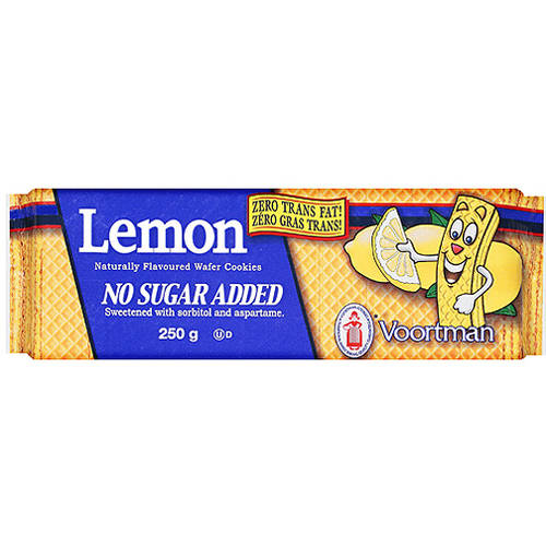 Voortman Lemon Wafer Cookies, 8.82 oz