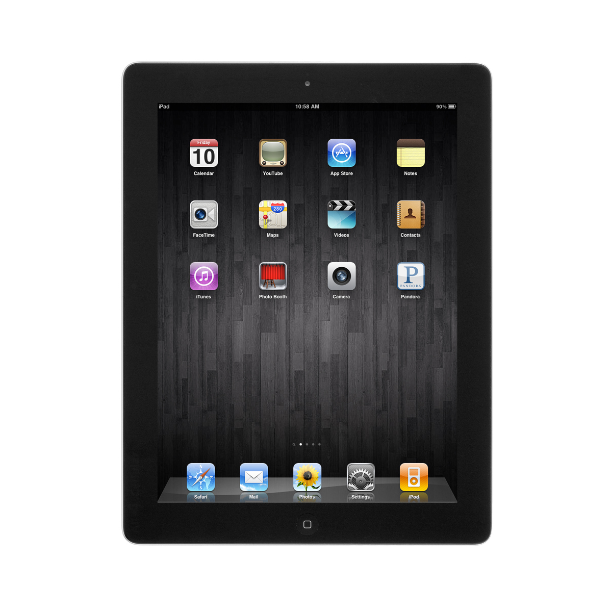 "Refurbished Apple iPad 4 16GB 9.7"" Retina Display Tablet WiFi Bluetooth & Camera - Black"