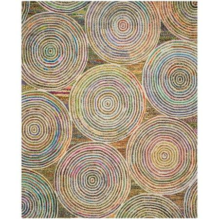 Safavieh Nantucket 9' X 12' Hand Tufted Cotton and Wool Rug in Beige - image 9 de 10