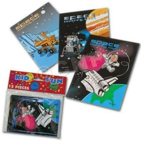 Windy City Novelties Space Coloring Books (12 Pack)](Windy Novelties)