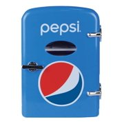 Pepsi Portable 6-can Mini Fridge, MIS133PEP, BLUE
