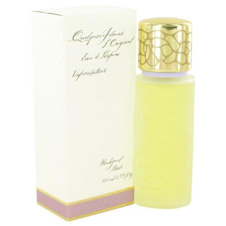 Eau De Parfum Classic Bottle - Quelques Fleurs By Houbigant For Women. Eau De Parfum Spray 3.4-Ounce Bottle