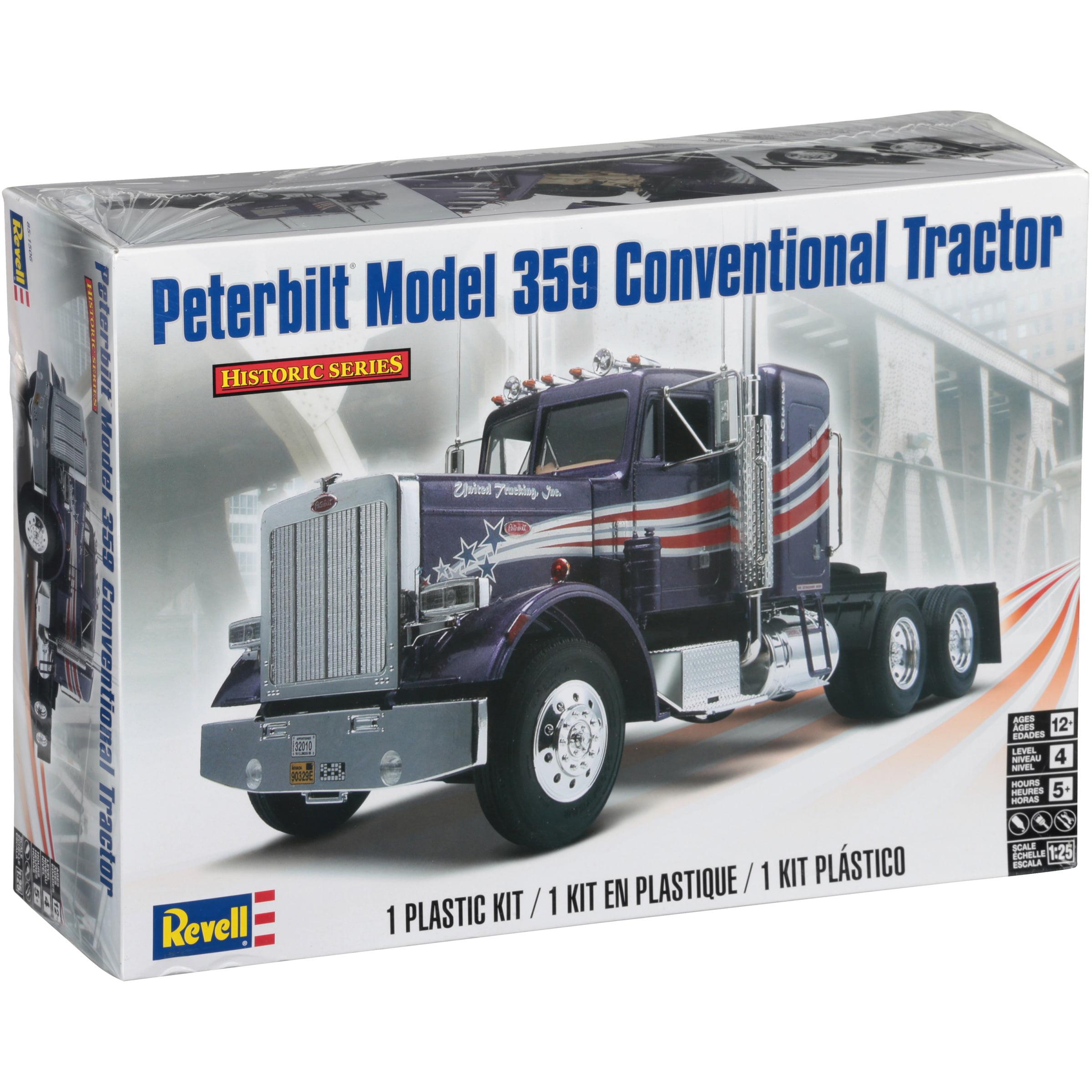 Revell peterbilt model 359 conventional tractor kit 116 pc box revell peterbilt model 359 conventional tractor kit 116 pc box walmart publicscrutiny Images