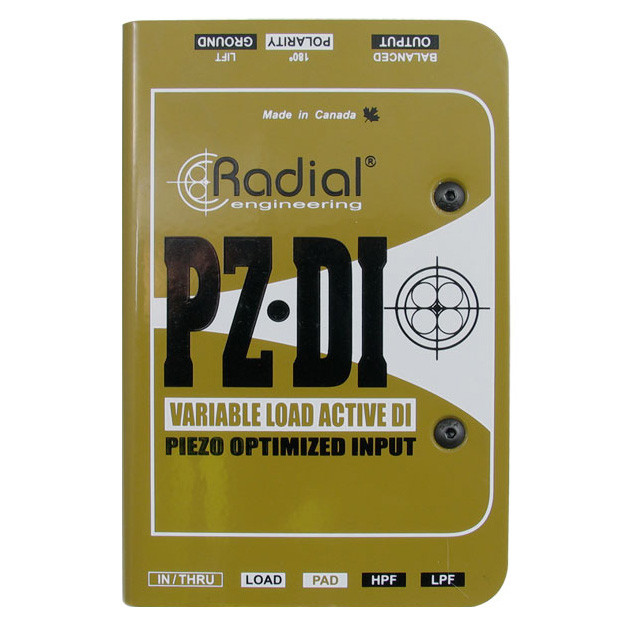 Radial PZ-DI Orchestral Acoustic Direct Box by Radial Engineering