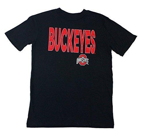 Outerstuff Boy's NCAA Ohio State Buckeyes Black T-Shirt