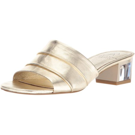 Adrianna Papell Women's Tiana Sandal, Gold Leather, 6 M US - image 1 of 1