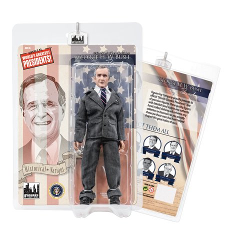 US Presidents 8 Inch Action Figures Series: George H.W Bush SR. [Gray Suit