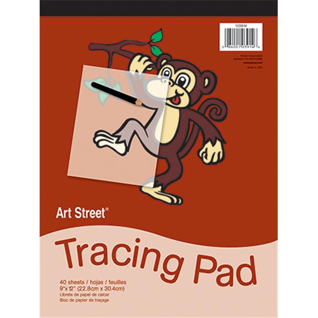 Pacon Corporation Pac103914 Tracing Pad 9X12