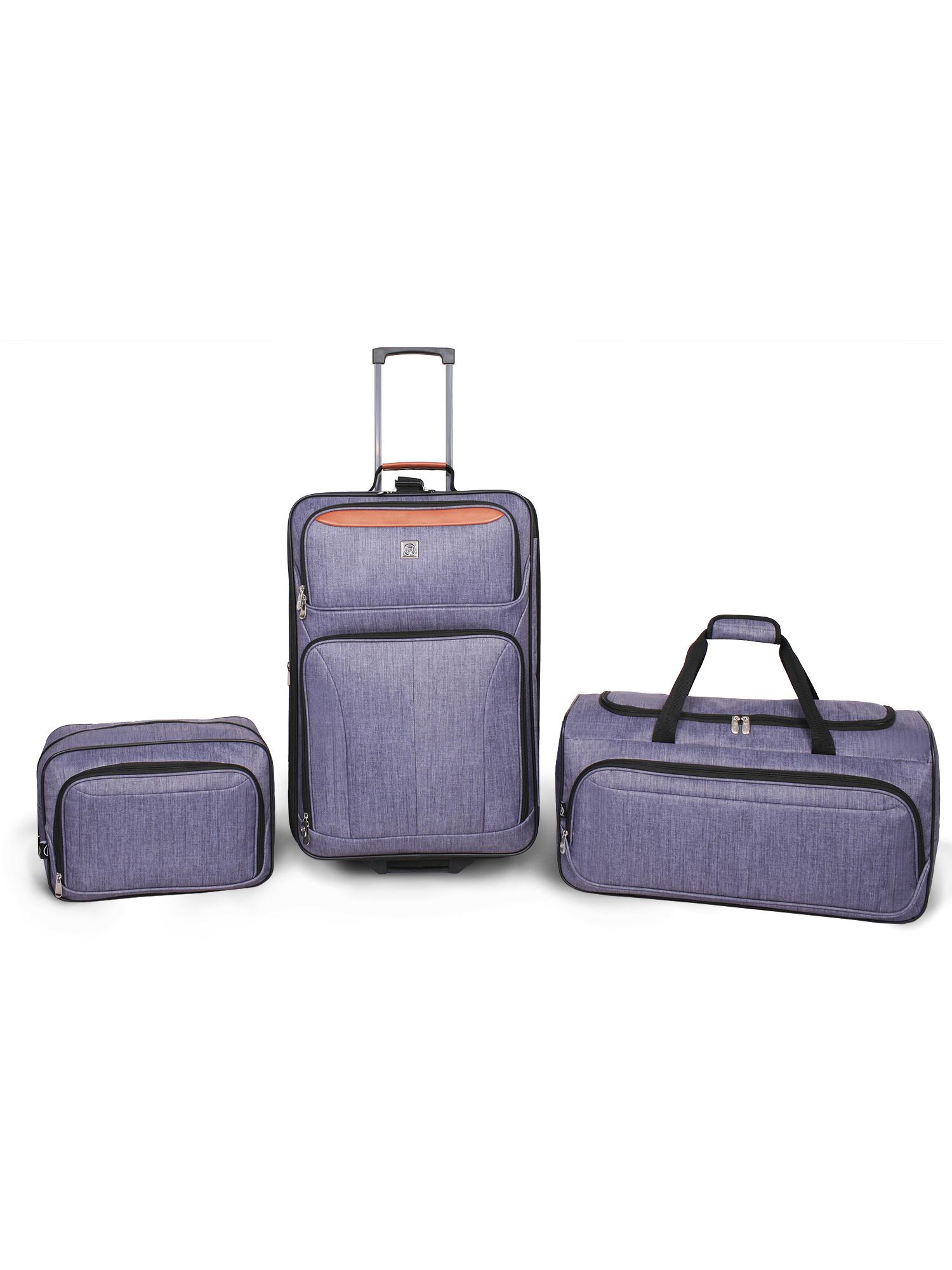 Protege 3 Piece Luggage Set (Gray)