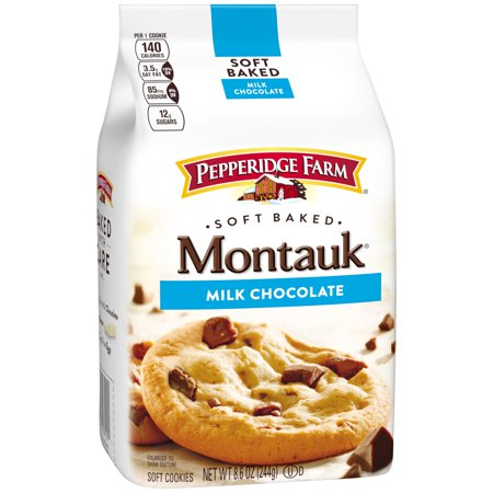 Pepperidge Farm Montauksoft Baked Milk Chocolate Soft Cookies 8 6 Oz  Bag