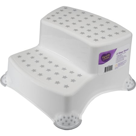 Parents Choice 2 Step Stool  Grey