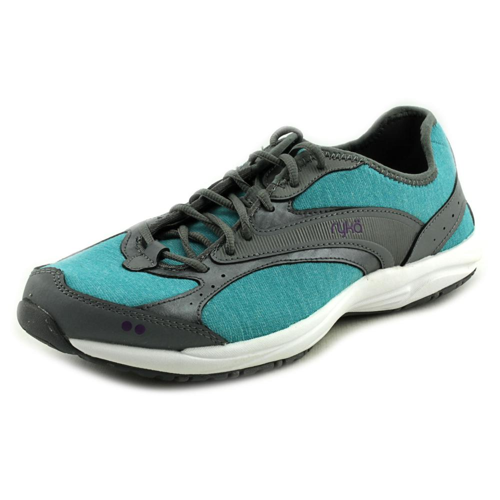 Ryka Dash Stretch   Round Toe Canvas  Walking Shoe