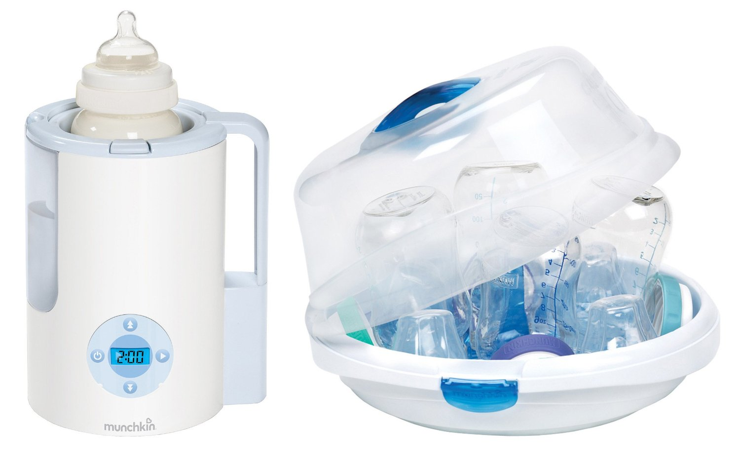 Munchkin Precision Digital Bottle Warmer with Microwave Steam Sterilizer by Munchkin
