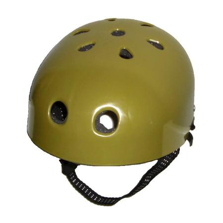 Gold Costume Helmet for Legends of the Hidden Temple Prop 90's TV Game Show](90s Props)