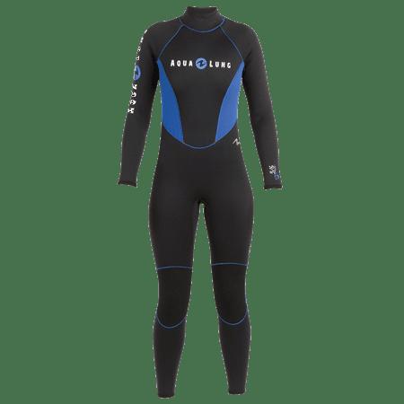 Aqua Lung Suit 5/3 Rental Full Mn Bk/Blu Md