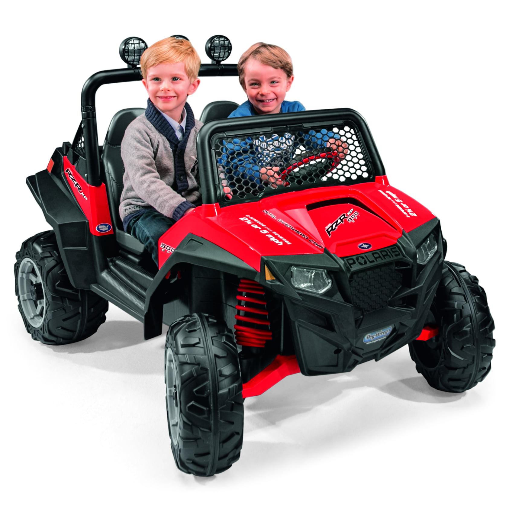 Peg Perego Polaris Ranger RZR 900 12-Volt Battery-Powered Ride-On, Red