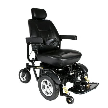 (Drive Medical Trident HD Heavy Duty Power Wheelchair, 24