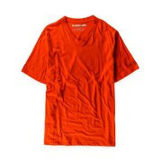 Sean John Mens SJ Trademark Graphic T-Shirt, orange, X-Large