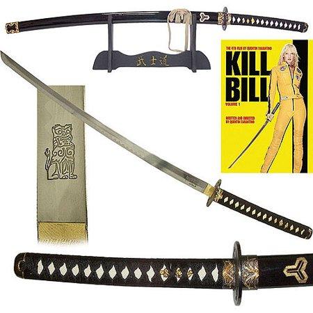 Kill Bill Katana Sword with Display Stand