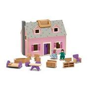 melissa u0026 doug fold and go wooden dollhouse with 4 dolls furniture cheap wooden dollhouse furniture a27 furniture
