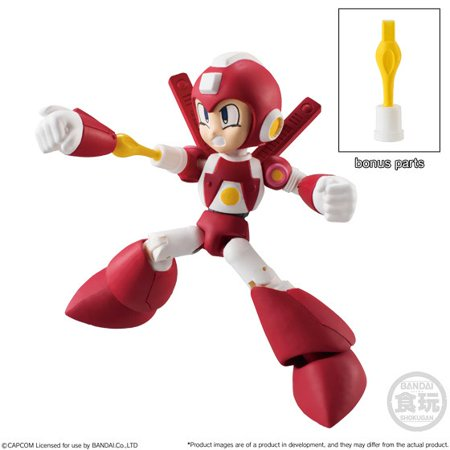 Shokugan 66 Action Series 2 Super Armor Mega Man Trading Figure