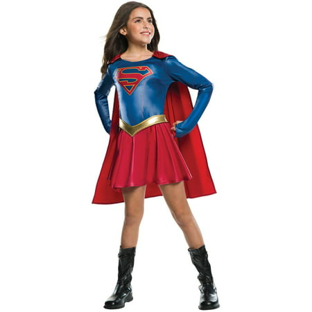Supergirl Tv Show Girls Costume - Supergirl Makeup