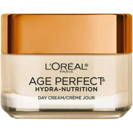 2 Pack - L'Oreal Paris Face Moisturizer by L'Oreal Paris, Age Perfect Hydra-Nutrition Day Cream with Manuka Honey Extract 1.7 oz