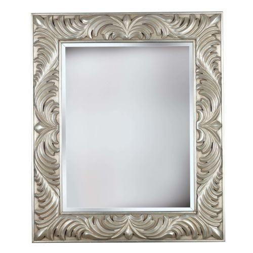 """Kenroy Home 60030 Antoinette 38"""" x 32"""" Rectangular Beveled Framed Mirror"""