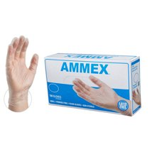 Disposable Gloves: Ammex Vinyl Gloves