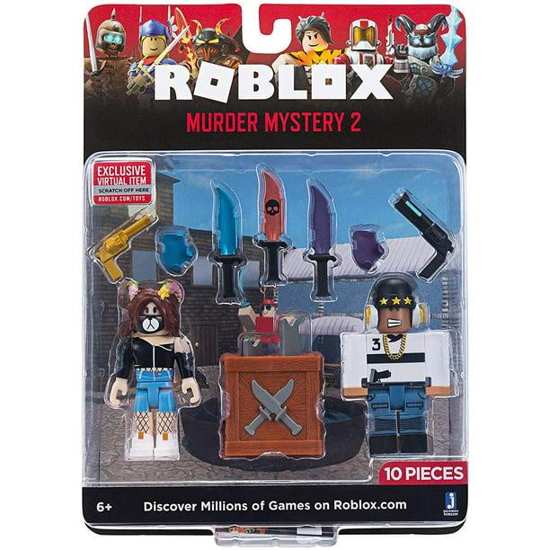 Roblox Game Packs Murder Mystery 2 W6 Walmart Com Walmart Com