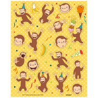 (2 Pack) Curious George Sticker Sheets, 4ct